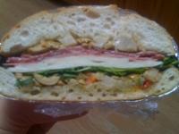 muffuletta sandwich for a picnic