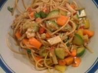 chilled soba noodle salad