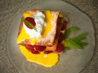 lemon raspberry napoleon
