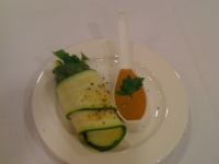 zucchini spring roll